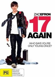17 Again IN PLASTIC Zac Efron and Matthew Perry DVD 2009