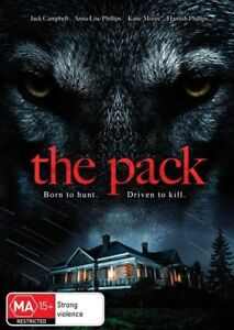 The Pack (DVD) Born to Hunt. Driven to Kill [Region 4] NEW/SEALED