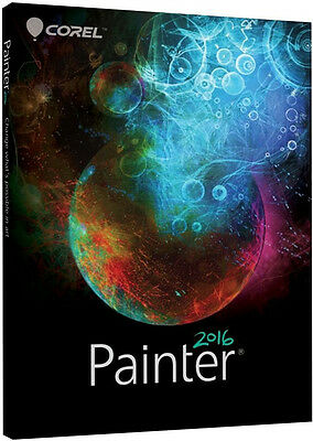 Corel Painter 2016 - Commercial Version, New Retail Box - PTR2016MLDP