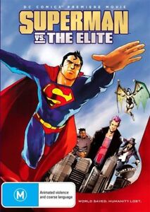 Superman Vs The Elite (DVD, 2012) Brand New & Sealed Region 4