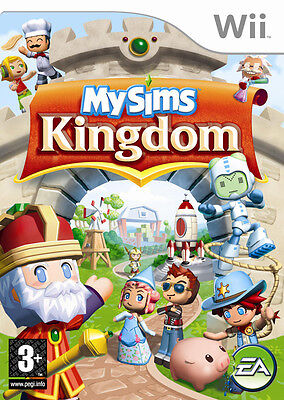 My Sims Kingdom Wii Nintendo jeu jeux games game spelletjes spellen 1597