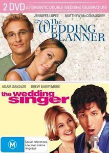 Wedding-Planner-Wedding-Singer-DVD-2007-2-Disc-Set-SEALED
