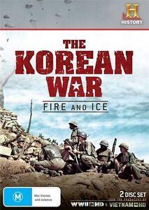 The Korean War - Fire And Ice (DVD, 2013, 2-Disc Set)