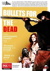 Bullets For The Dead (DVD, 2016) R4 PAL NEW FREE POST