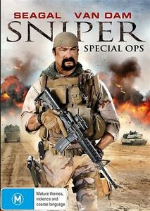 Sniper - Special Ops (Steven Seagal) NEW DVD