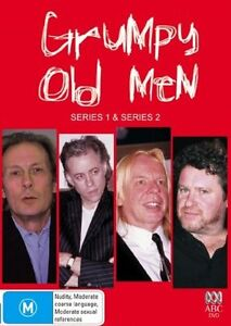Grumpy Old Men : Series 1-2 (DVD, 2006, 2-Disc Set)..R4..NEW & SEALED   dvd1241