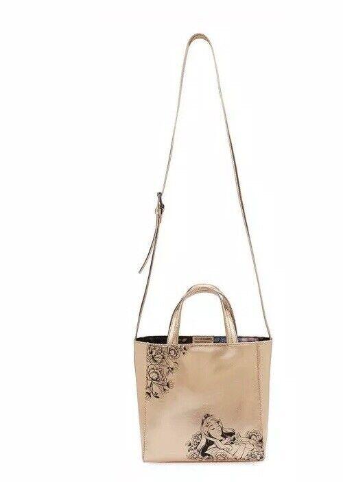 Disney Store Sleeping Beauty 60th Anniversary Handbag Rose gold bag New