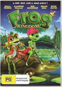 Frog Kingdom (DVD, 2015) NEW