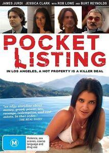 Pocket Listing *Rob Lowe, Burt Reynolds* (DVD, 2016) NEW RELEASE IN STOCK NOW!