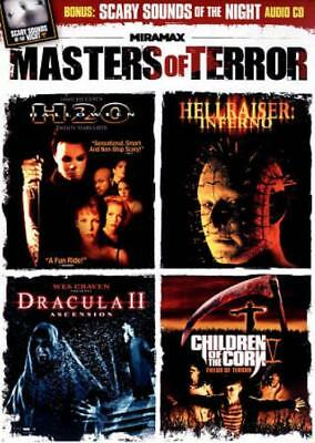 VARIOUS ARTISTS - MASTERS OF TERROR: HALLOWEEN: H20/HELLRAISER: INFERNO/DRACULA -