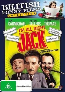 I'm All Right Jack (British Funny Films Collection) DVD