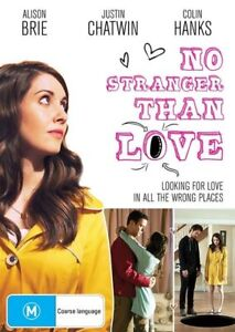 No Stranger Than Love (DVD,2016) In All The Wrong Places [Region 4] NEW/SEALED
