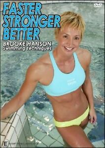 Faster Stronger Better - Brooke Hanson Swimming Techniques (DVD, 2006)