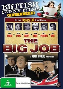 The Big Job DVD R4