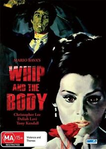 Whip And The Body + Extras * Christopher Lee * Mario Bava * BRAND NEW SEALED!!