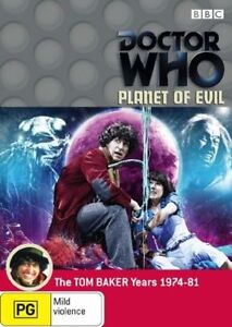 Doctor Who: Planet of Evil *  LIKE NEW DVD *