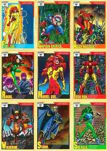 Assorted Marvel / DC Comics Cards
