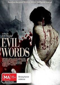 Evil Words (DVD, 2012) 'NEW & SEALED'