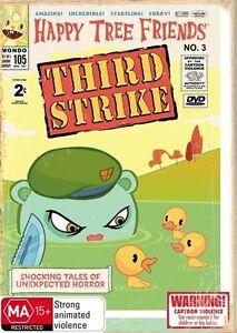 HAPPY TREE FRIENDS Third Strike DVD R4