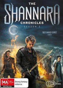 The Shannara Chronicles: Season 2 (DVD, 2018, 3-Disc Set), NEW SEALED REGION 4