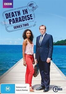 Death In Paradise : Series 2 (DVD, 2013, 3-Disc Set)