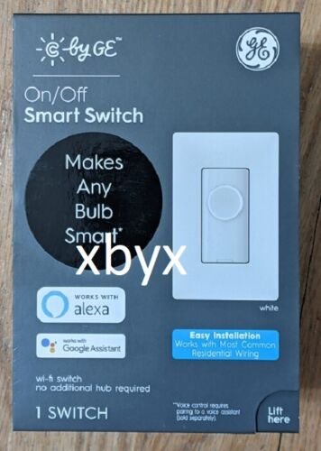 C by GE On/Off Smart Switch Button - White  93124018 (Brand New/Factory Sealed)