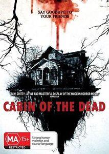 Cabin Of The Dead (DVD, 2014) - Region 4