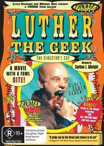 Luther The Geek (DVD, 2010) + extra *  Troma * * Priced to Clear *