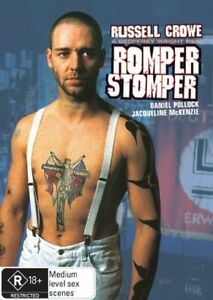 ROMPER STOMPER DVD=RUSSELL CROWE=REGION 4 AUSTRALIAN RELEASE=NEW AND SEALED