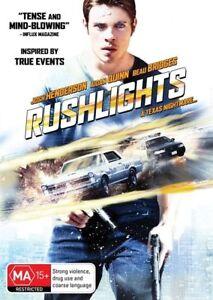 Rushlights (DVD) Josh Hendersen A Texas Nightmare [Region 4] NEW/SEALED