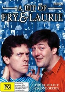 A Bit Of Fry & Laurie : Series 2 (DVD, 2007) SEASON TWO- REGION 4 - FREE POSTAGE