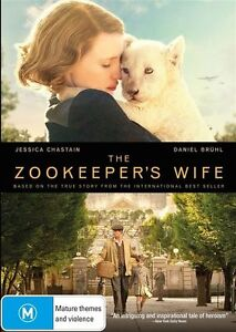 The Zookeepers Wife : NEW DVD