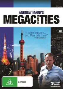 Andrew Marr's Megacities (DVD, 2012)-REGION 4-Brand new-Free postage