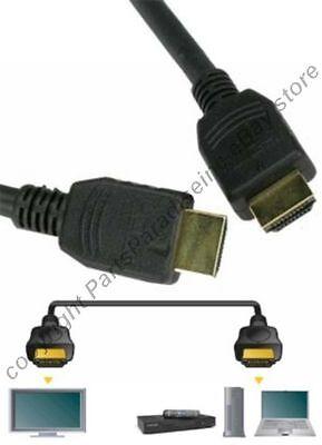 6ft HDMI Gold Male~M Cable/Cord/Wire HDTV/Plasma/TV/LED/LCD/DVR/DVD 1080p v1.4 (Plasma-tv-led)