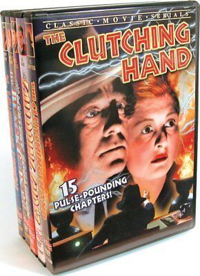 Vintage Serials (The Black Coin / The Clutching Hand / The Mystery NEW DVD