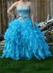 Dry-cleaned size 12 Grad Dress for sale