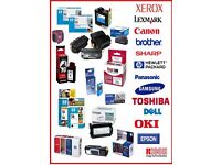 ANY PRINTERS CATURAGES REQUIRED REFILL COLOUR OR B/W AT BARGAIN DEALS MUST SEE LOOK !!!!