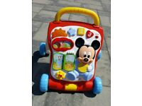 Disney baby Mickey multi activity walker