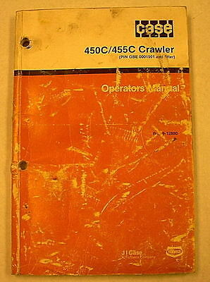 Case 580ck Series B Loader Backhoe Operators Manual Burl 9-12880