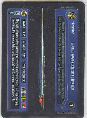 Star Wars CCG Reflections I (1) FOIL Executor EX/NM