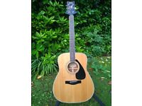 Pre-owned Yamaha FG-441S natural steel string acoustic guitar
