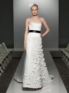 Unique David's Bridal wedding dress