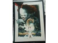 Official a3 It movie poster limited steven king pennywise