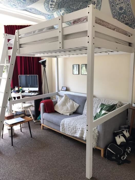 Stora Ikea Double Loft Bed In Willesden London Gumtree