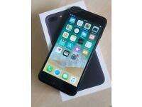 iPhone 7 plus black 32gb unlocked