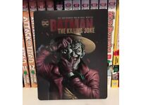 Batman Killing Joke Blu Ray Steelbook