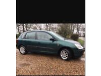 Sale or swap for smaller 4 door 1.2 car