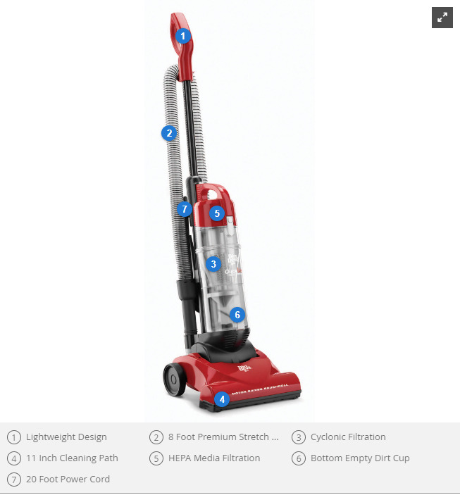 Dirt Devil Lite Plus Vaccum