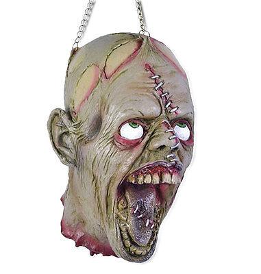Torture Head abgeschlagener Horror Schädel an Ketten Folter Kopf Halloween