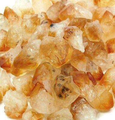 500 Carat Bulk Lot Of Citrine Points  Crystal Healing  Reiki